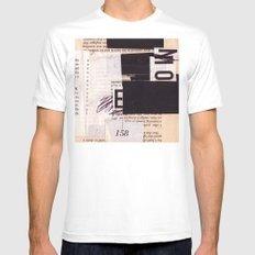 BOOKMARKS SERIES pg 302 Mens Fitted Tee White SMALL