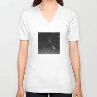 spider V-neck T-shirts featuring Spider by Autumn Steam
