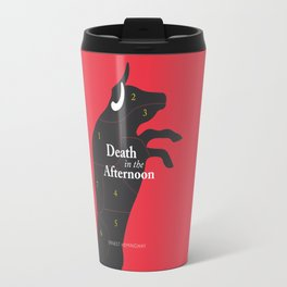 Ernest Hemingway book Cover & Poster - Death in the Afternoon Travel Mug