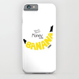 Banana Stand iPhone Case