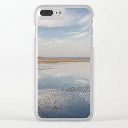 Sunset in Estonia Clear iPhone Case