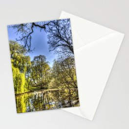 The Willow Tree Pond Stationery Cards