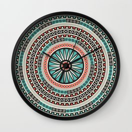 Endless mandala Wall Clock