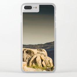 Big Rock 7450 Joshua Tree Clear iPhone Case
