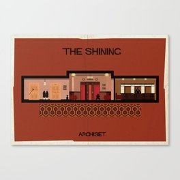 The shining_ Directed by Stanley Kubrick Canvas Print