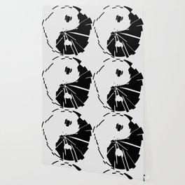 Yin Yang Shatterd Symbol Wallpaper