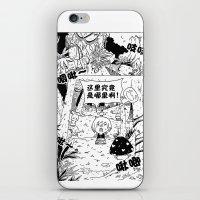 comic iPhone & iPod Skins featuring comic by Joshwa