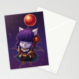 Mazoku Mog Stationery Cards