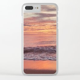 Race Point Sunset Clear iPhone Case