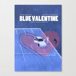 Blue Valentine Movie Poster Canvas Print