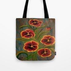Pansies-2 Tote Bag
