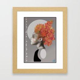 Autumn emotions Framed Art Print
