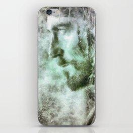 Jesús con la corona de espinas iPhone Skin