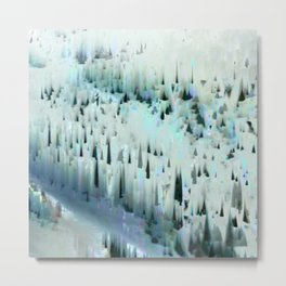 White Landscape / Snow Metal Print