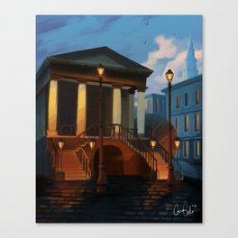 Charleston City Market Canvas Print
