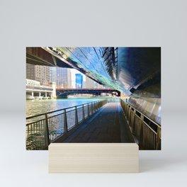 The Riverwalk Mini Art Print