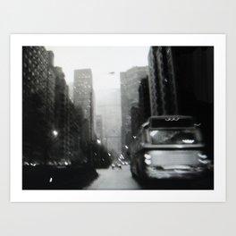 Manhattan 1975 Art Print
