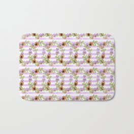 Wreath Pattern Bath Mat