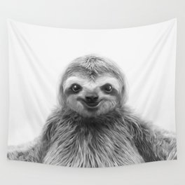 Young Sloth Wall Tapestry