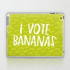 I Vote Bananas Laptop & iPad Skin