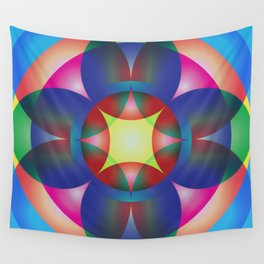 Atoms 36 Wall Tapestry