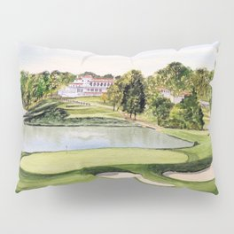 The Congressional Golf Course 10th Hole Pillow Sham