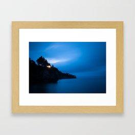 Early Light Over Fundy.  Canada Creek, Nova Scotia. Framed Art Print