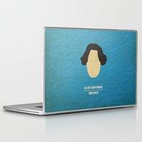 "oscar wilde Laptop & iPad Skins featuring Oscar Wilde - ""All art is quite useless"" by cowcowmoomoo"