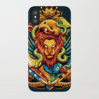 harry potter iPhone & iPod Cases featuring Harry Potter : Hogwarts Houses by anggatantama