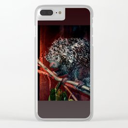 Porcupine Clear iPhone Case