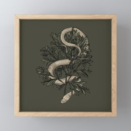 Le Serpent et l'Absinthe Framed Mini Art Print