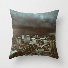 impending doom Throw Pillow