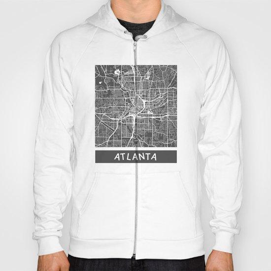 Atlanta map Hoody