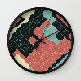 Abstract Geometric Artwork 92 Wall Clock