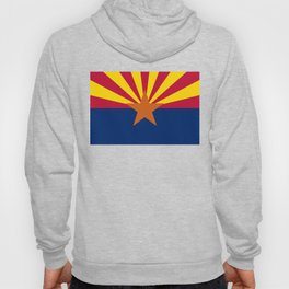 State flag of Arizona, Authentic HQ image Hoody