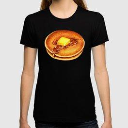 Pancakes Pattern - Blue T-shirt