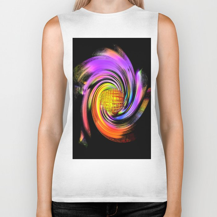 Abstract Perfection 26 Biker Tank
