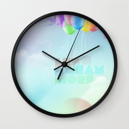 Let's dream more Wall Clock