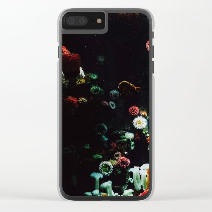 UNDERWATER ANEMONE Clear iPhone Case