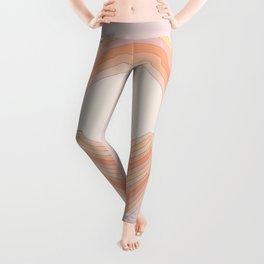 Lilac Folds Leggings