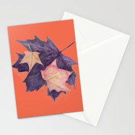 Autumn Leaves and Fairy Dust #autumn Stationery Cards