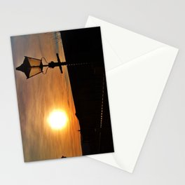 SUNSET AT DISUSED RAILWAY STATION DEVON Stationery Cards
