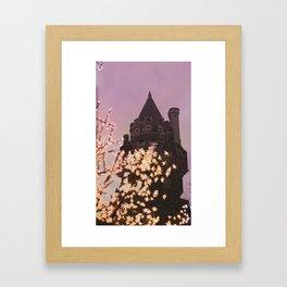 Castle at Dusk Framed Art Print