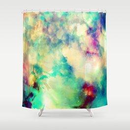 Fume Color Splash 02 Shower Curtain