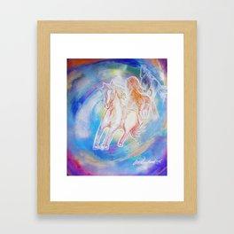 Calling the Helpers #3 Framed Art Print