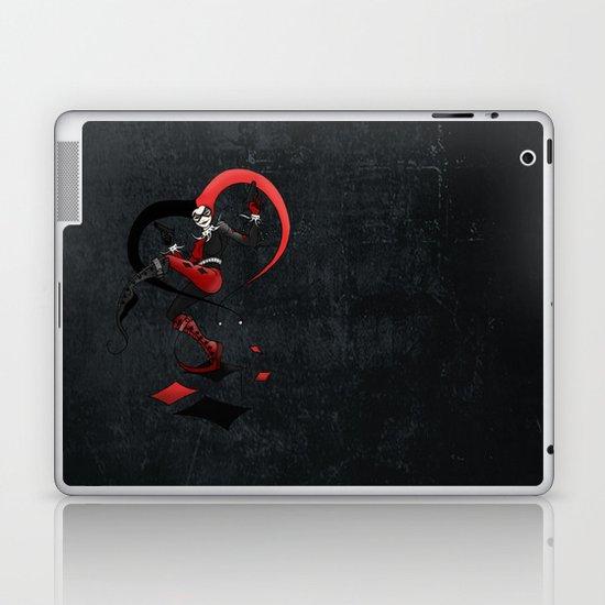 Quinn of Fools Laptop & iPad Skin