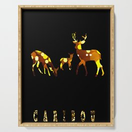 Caribou Serving Tray