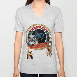 Sounds of the Dream_Catcher Unisex V-Neck