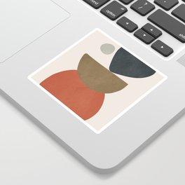 Abstract Balancing Stones Sticker
