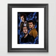 Doctors Three Framed Art Print